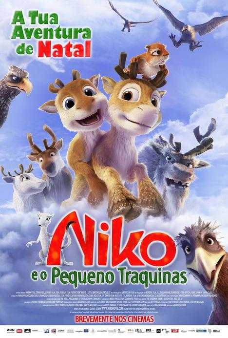 Poster do filme Niko e o Pequeno Traquinas
