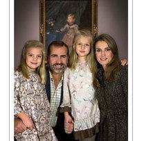 Príncipes de Espanha desejam Boas Festas