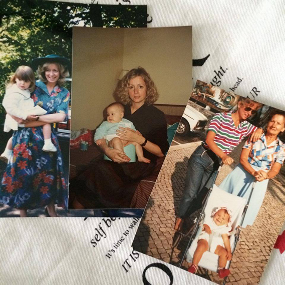 """Jessica Athayde: """"Feliz Dia da Mãe"""", partilhou a atriz, que foi ao baú das recordações buscar algumas fotos de infância ao lado da sua progenitora."""