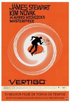 Poster de «Vertigo - A Mulher que Viveu Duas Vezes»