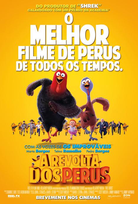 Poster do filme A Revolta dos Perus