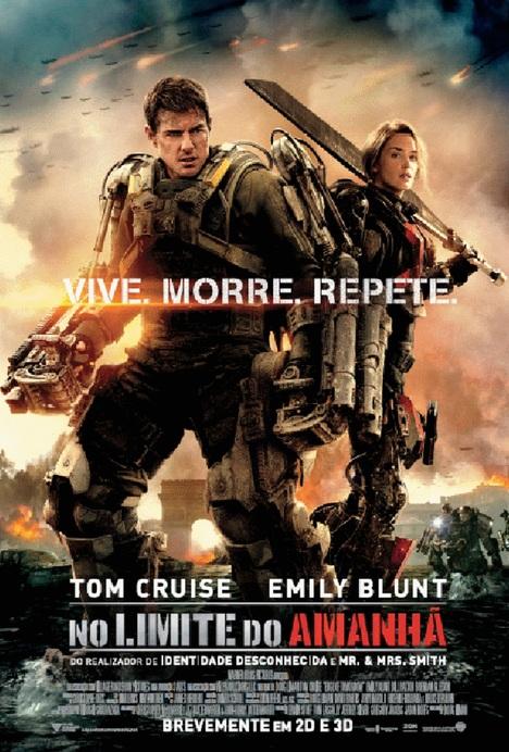 Poster do filme No Limite do Amanhã (3D - IMAX)