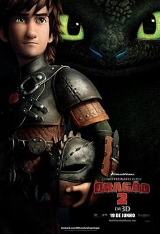 Capa do filme: Como Treinares o Teu Dragão 2