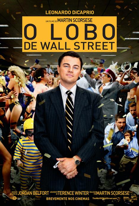 Poster do filme O Lobo de Wall Street