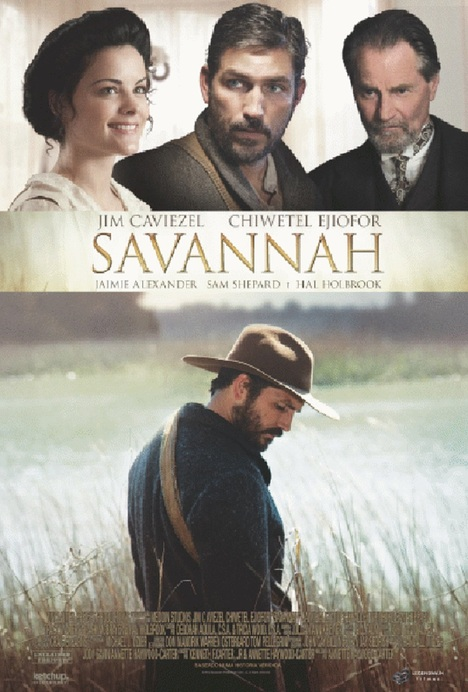 Poster do filme Savannah