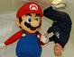 Imagem Mario com Buzz Aldrin