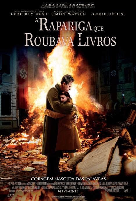 Poster do filme A Rapariga Que Roubava Livros