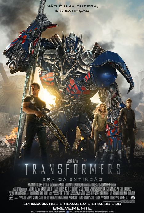 Poster do filme Transformers: Era da Extinção
