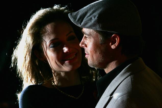 Angelina e Pitt