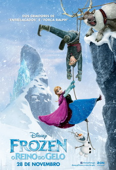 Capa do filme: Frozen - O Reino do Gelo