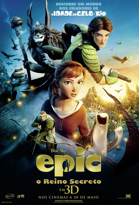 Poster do filme Epic - O Reino Secreto