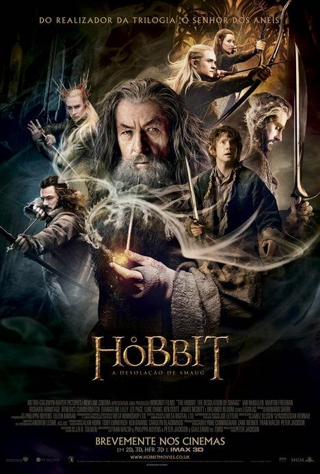 Poster do filme O Hobbit: A Desolação de Smaug (3D - HFR)