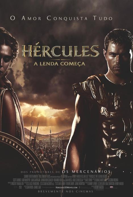 Poster do filme Hércules: A Lenda Começa