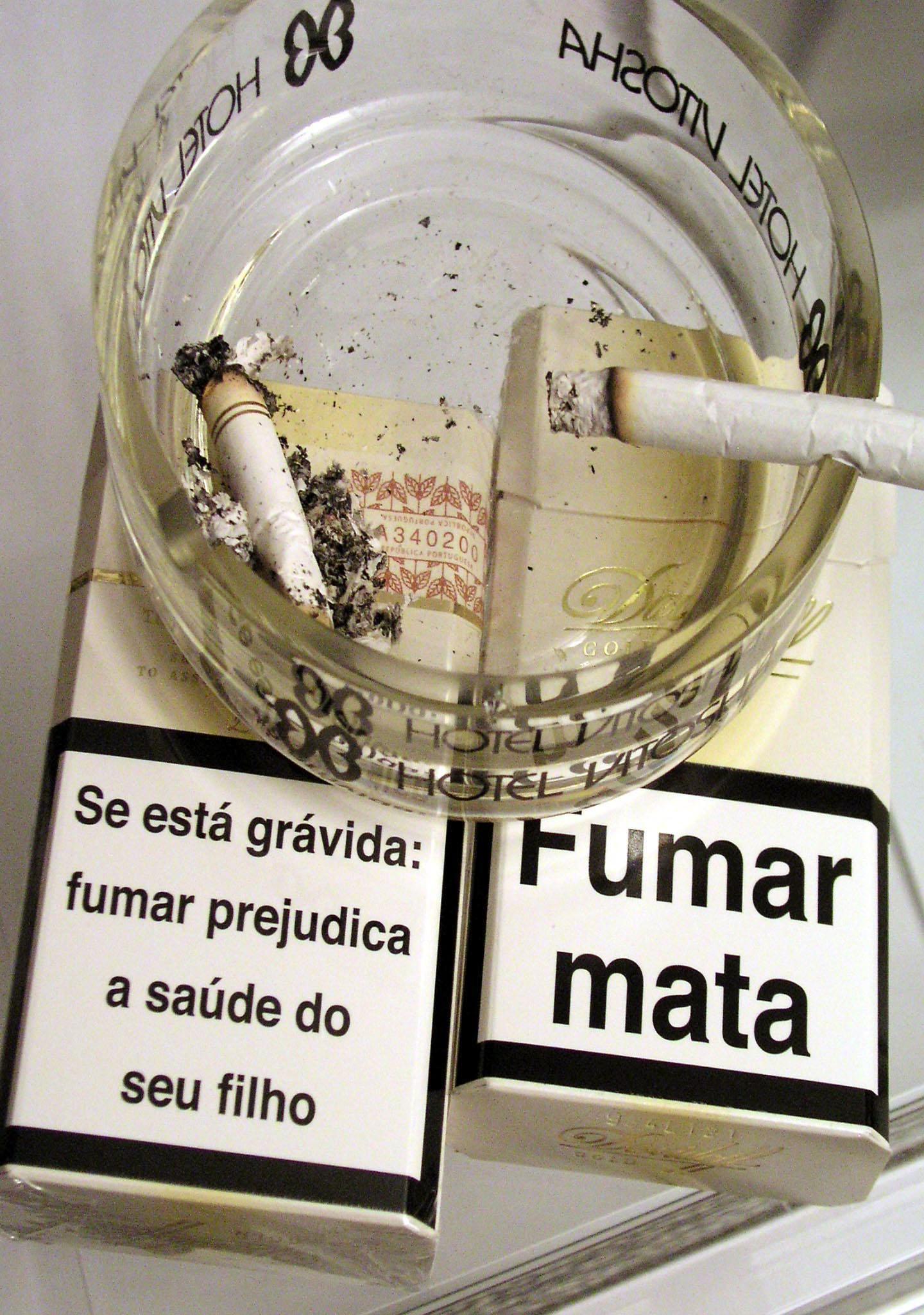 O estômago deixou de fumar e cresceu