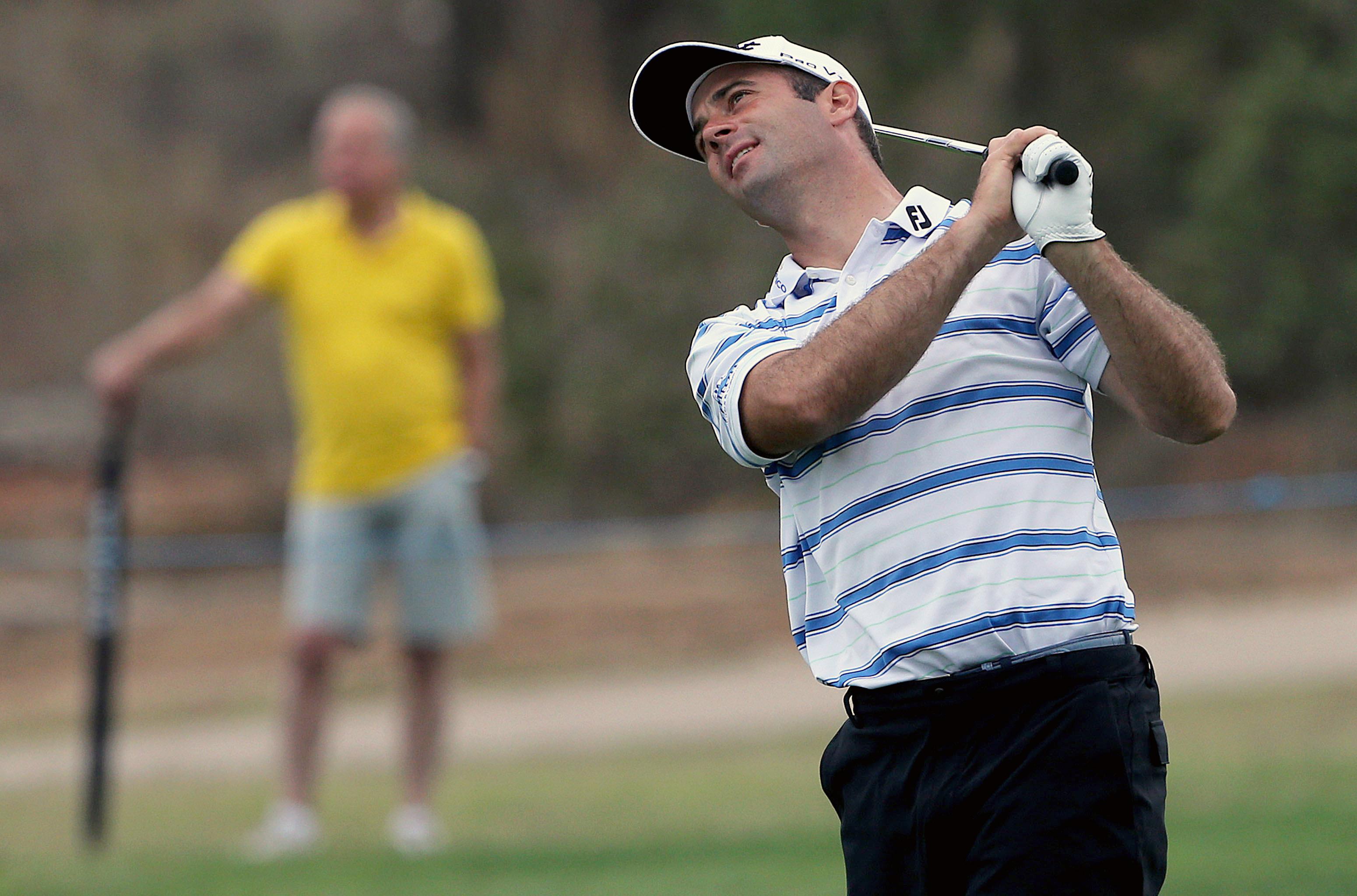 Ricardo Santos acaba Rolex Trophy de golfe em terceiro lugar