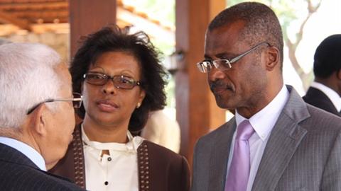 Presidente da Assembleia Nacional empossa os membros da Comissão de Protecção de Dados