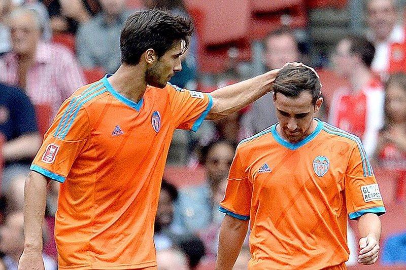 André Gomes e Rodrigo estreiam-se a marcar, Valencia é 2.º