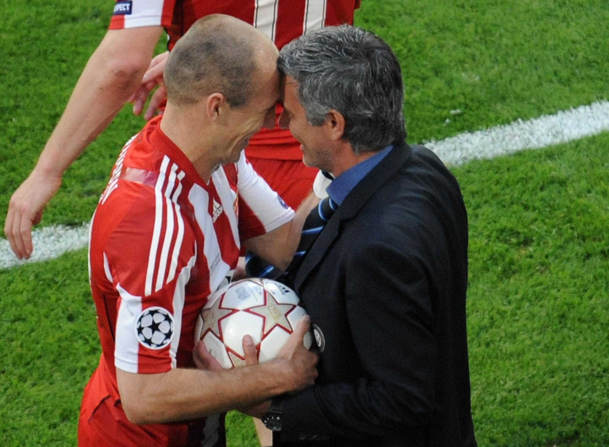 Robben elogiou Mourinho e recordou o 'pior estádio' onde jogou