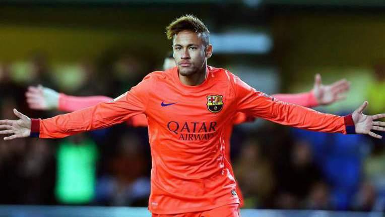 Pai de Neymar diz que há &quote;paz&quote; entre o avançado e Luis Enrique